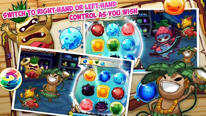 Switch to right-hand or left-hand control as you wish.