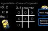 Interface do Jogo contra o Computador