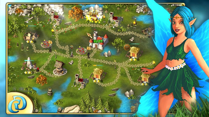 Assist your kingdom's inhabitants in the rebuilding of their community