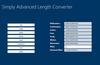 Simply Advanced Length Converter