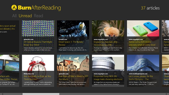 Your reading list like you never seen it before.