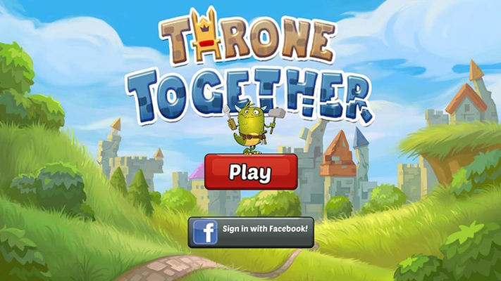 Help friends unlock new kingdoms and get more lives.  Or compete with them for high scores!
