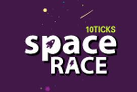 10ticks Maths Space Race