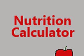 Nutrition Calculator
