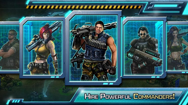Hire Powerful Commanders