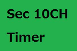Sec 10CH Timer