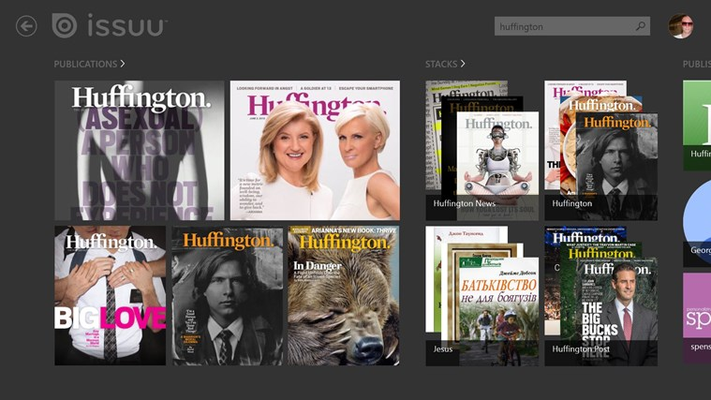 Discover your favorite publishers.