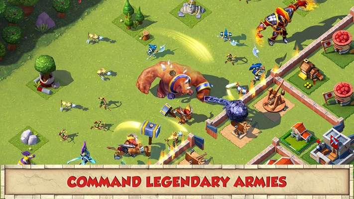Command legendary armies