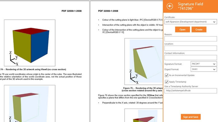 Perfect PDF Signer for Windows 8