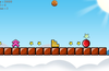 New game mechanics includes speed zones, long jump blocks and direction signs...