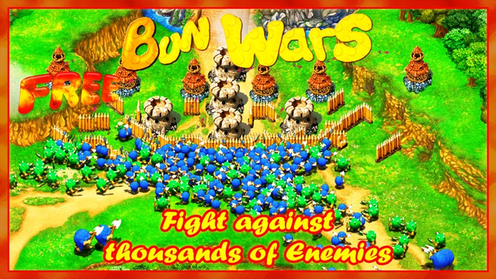 Fight against thousands of enemies