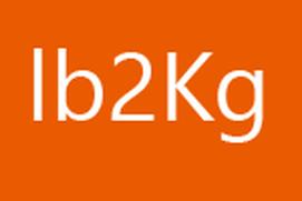 pounds 2 kilograms