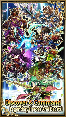 Hundreds of heroes and beasts to collect!
