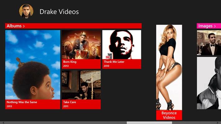 Drake Videos for Windows 8
