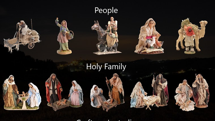 People and Holy Family part 1
