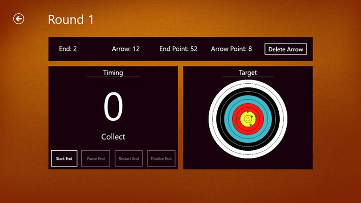 Timing - Collect & Scoring on Visual Target