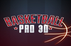 Basket Ball Pro 3D Graphical Image