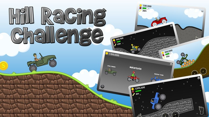 Hill Racing Challenge, fun for all!