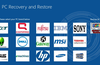 Main Page with PC brands