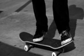 skating underground
