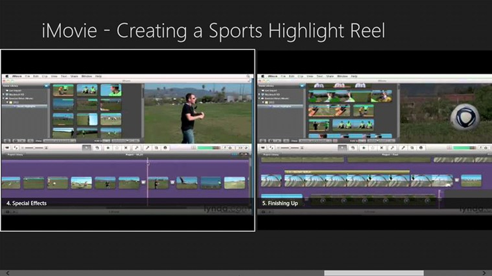 iMovie - Creating a Sports Highlight Reel
