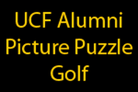 UCF Alumni Picture Puzzle Golf