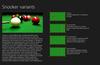 Description of Snooker Variants and additional background information