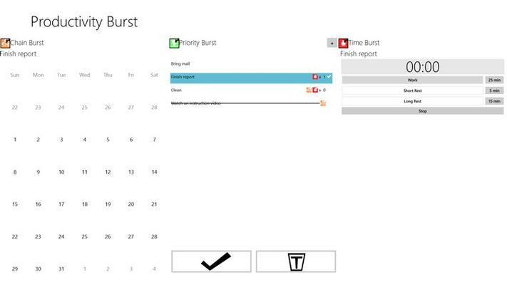 Productivity Burst for Windows 8