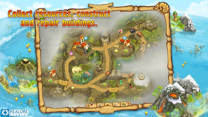 Collect resources, construct and repair buildings!