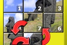 Kids Slide Puzzle World - 15 mystic squares shape rearranging mosaic game for older aged children