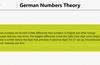 German Numbers Theory