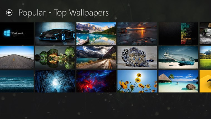 Backgrounds Wallpapers HD for Windows 8