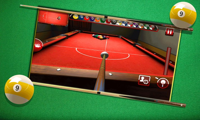 9 Ball Pool Cue Club Master 3D for Windows 8