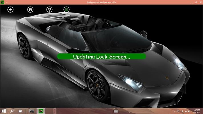 Set Lock Screen