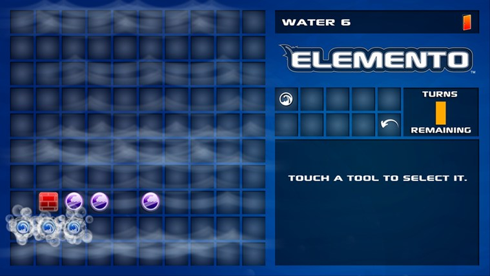 Water level using the power of waves to solve the puzzle