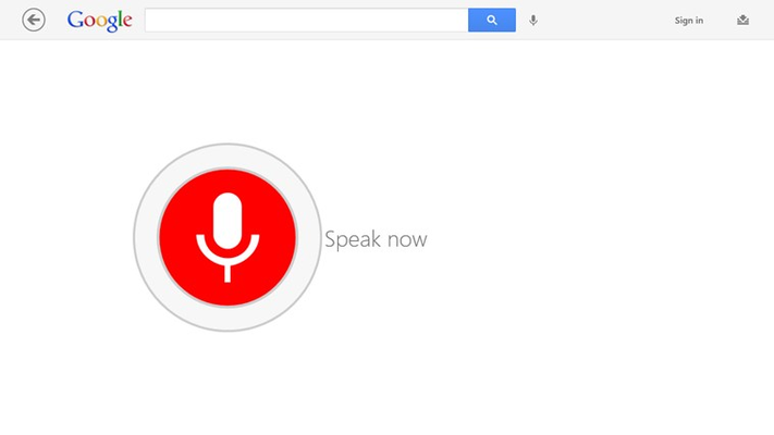 Use your microphone to ask Google anything and see the answer instantly.