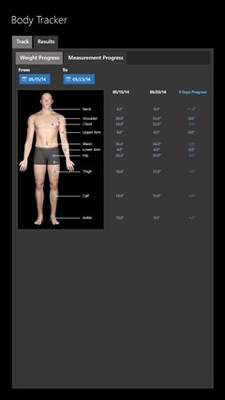 Track your body