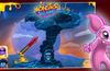 Toss mini-bombs at foes!