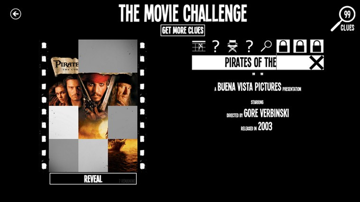 The Movie Challenge for Windows 8