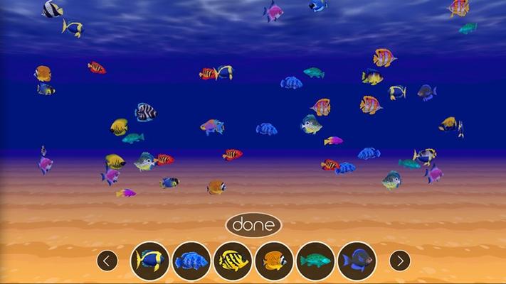 Over two dozen exotic fish!