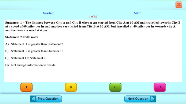 Math Practice Test