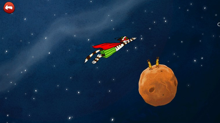 Send Findus to outer space by solving the final invention!