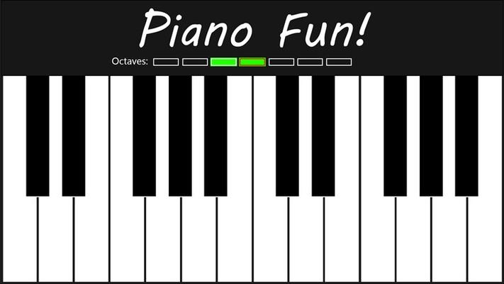 piano screen
