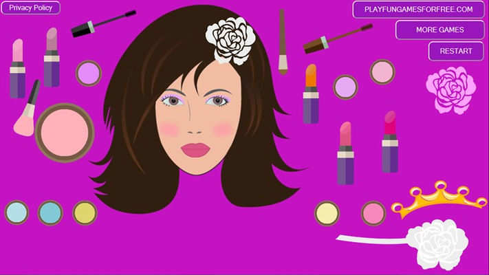 Bride Makeup Game