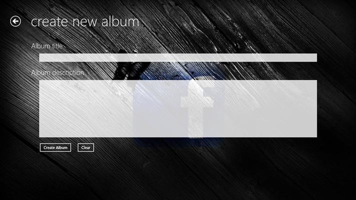 Create new Album