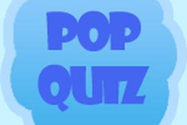 Math Pop Quiz