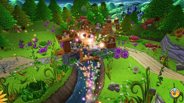 Light up the sky and take down structures with Fireworks Frenzy