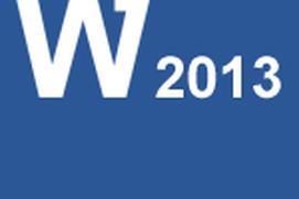 Video Training Word 2013
