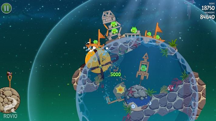 Orange bird now in space!