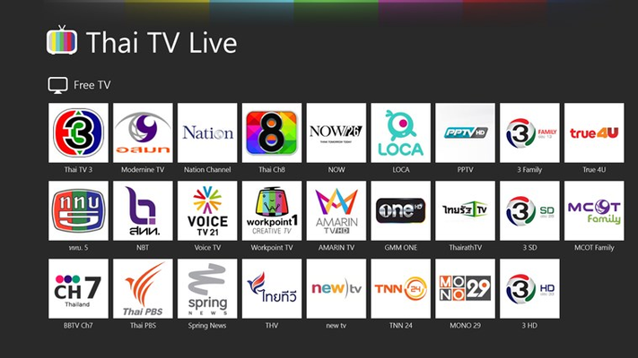 List of TV Channels